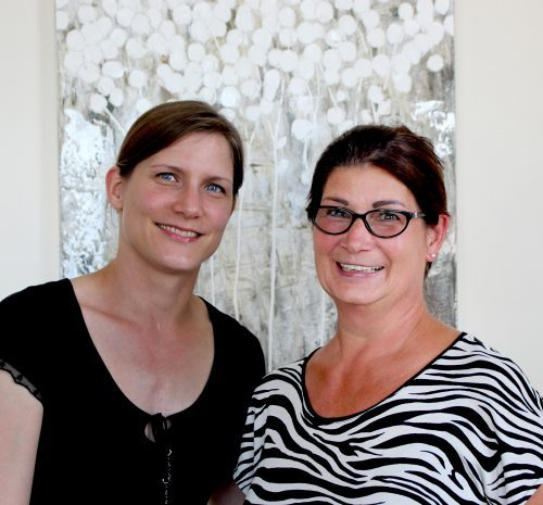 Vera Hunger und Roswitha Oberconz