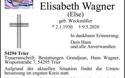 † Elisabeth Wagner