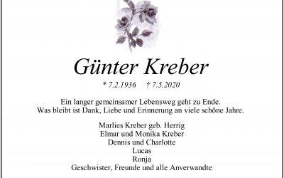 † Günter Kreber