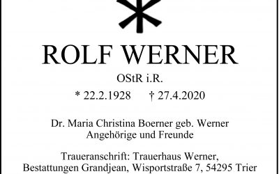 † Rolf Werner