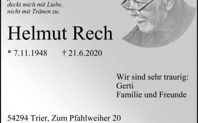 † Helmut Rech