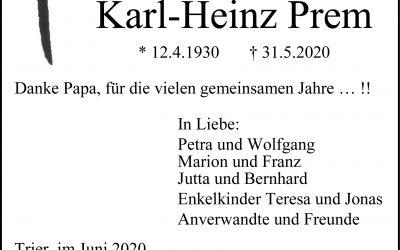 † Karl-Heinz Prem