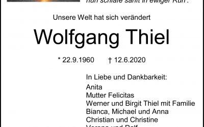 † Wolfgang Thiel