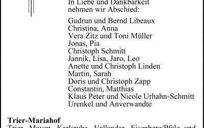 † Ewald Schmitt