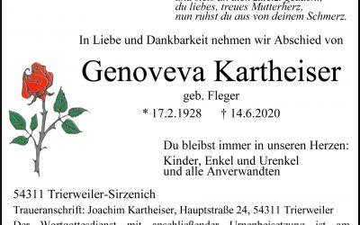 † Genoveva Kartheiser