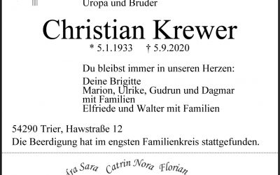 † Christian Krewer