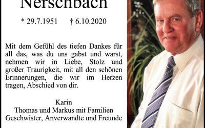 † Walter Nerschbach