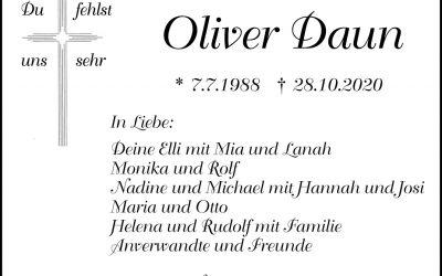 † Oliver Daun