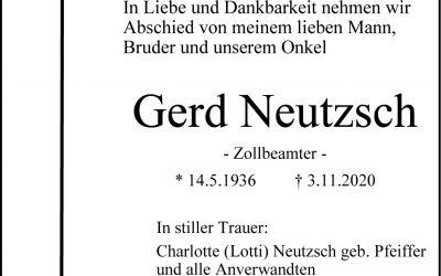 † Gerd Neutzsch