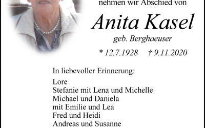 † Anita Kasel