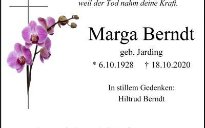 † Marga Berndt
