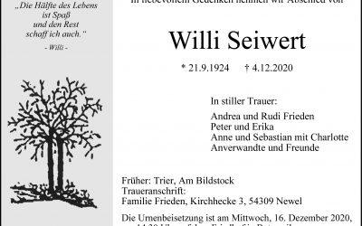 † Wilhelm Seiwert