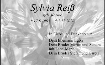 † Sylvia Reiß