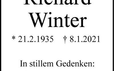 † Richard Winter