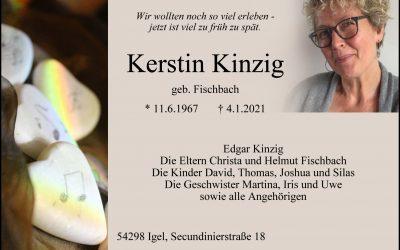 † Kerstin Kinzig