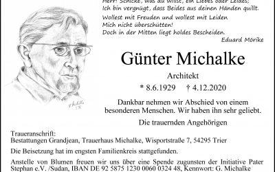 † Günter Michalke