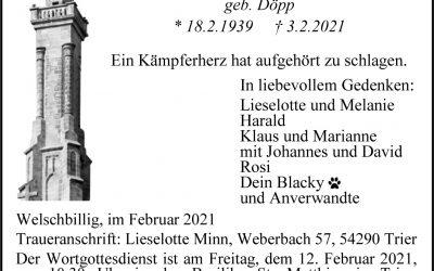 † Maria Kleinmann