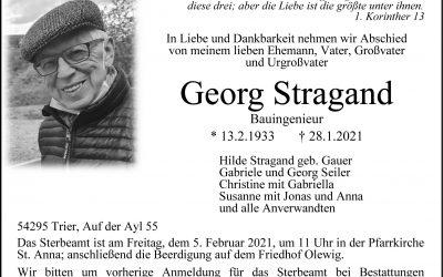 † Georg Stragand